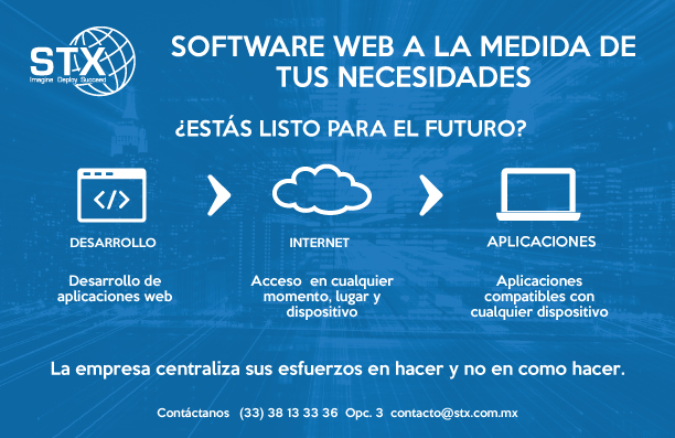 Software Web a la medida.
